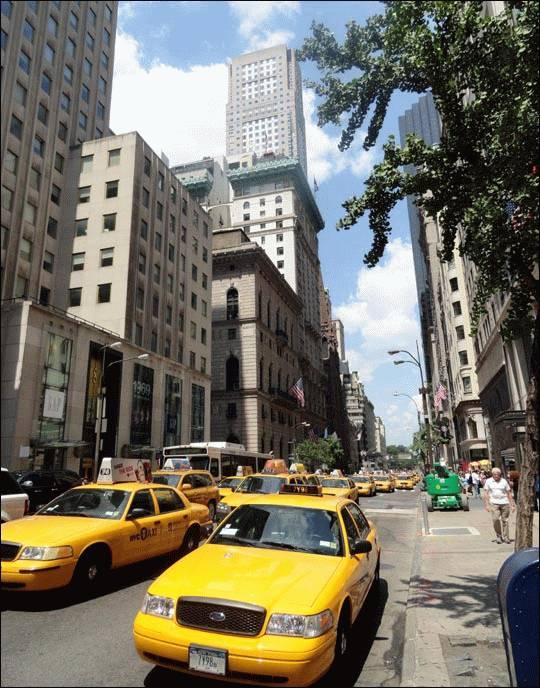 Nowojorskie taksówki