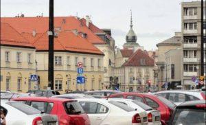 Płatny wjazd do centrum Warszawy