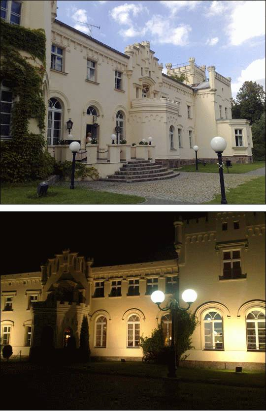 Pałac w Krześlicach, woj. wielkopolskie