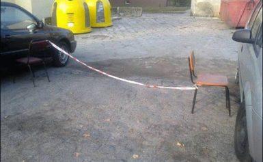 Chełm. Parkowanie po polsku