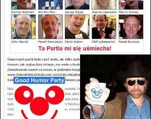 Partia Dobrego Humoru wkracza do USA