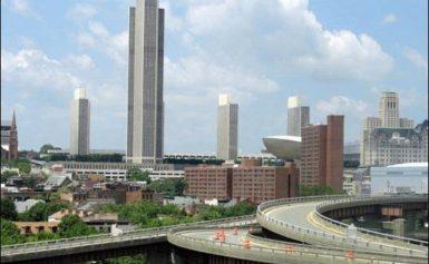 Położenie miasta Albany, NY, USA