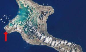 Poland – wieś na na wyspie Kiribati