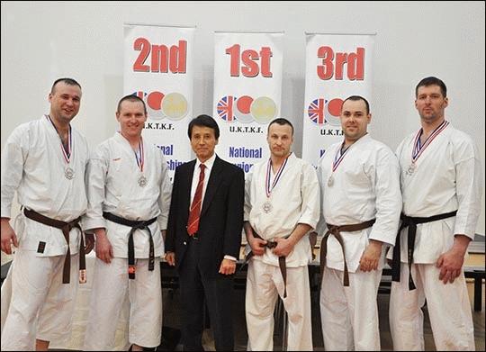 Polscy karatecy ze srebrnymi medalami