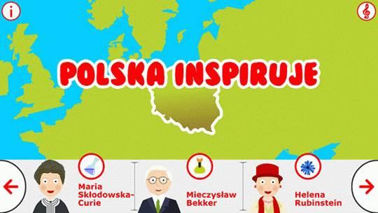 Polska Inspiruje – ciekawa aplikacja dla dzieci