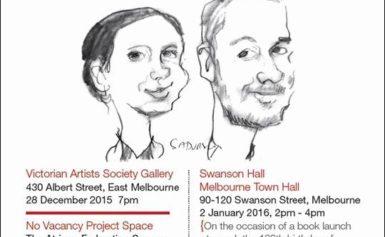 Polski karykaturzysta w Melbourne, Australia