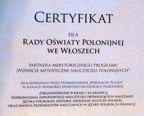 Polskie szkoły we Włoszech łączą siły