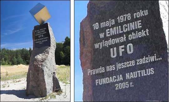 Pomnik UFO w Polsce