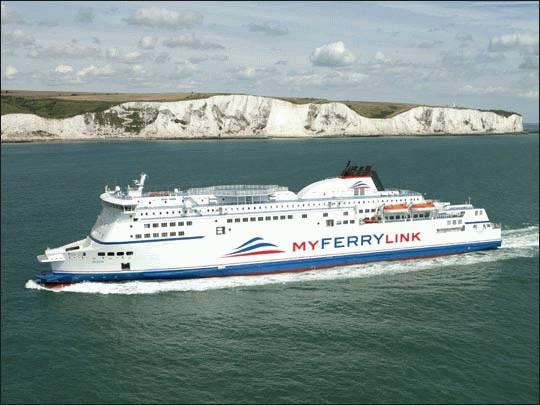 Promem z Dover do Calais