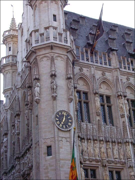 Ratusz w Brukseli, stolicy Belgii