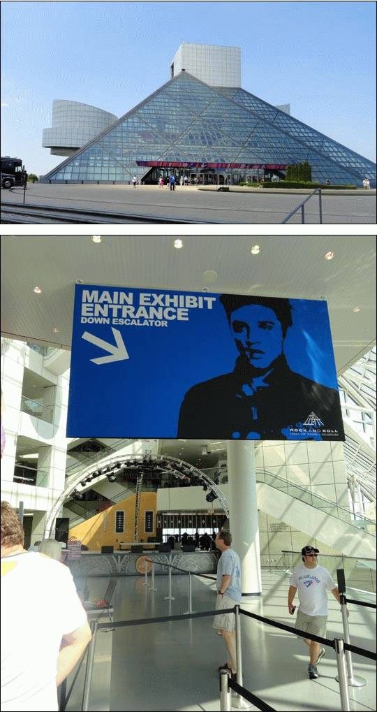 Rock and Roll Hall of Fame – Cleveland, Ohio, USA