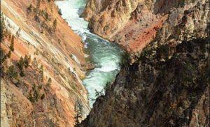 Rzeka Yellowstone, USA