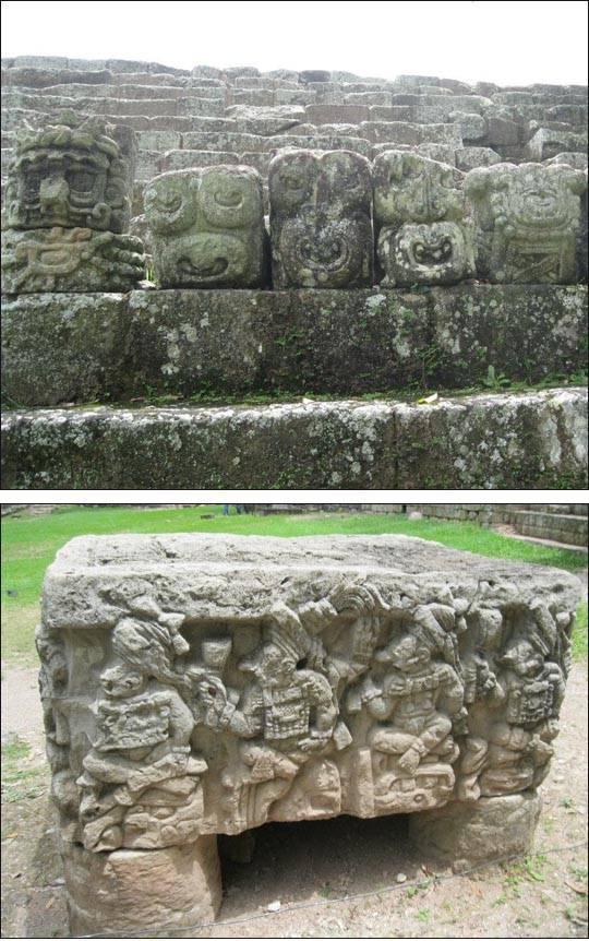 Słynna stolica Państwa Majów w Hondurasie