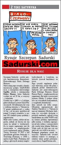 Sadurski w The Polish Observer