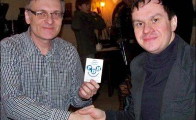 Sergiusz Leończyk w Partii Dobrego Humoru
