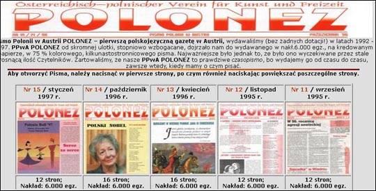 Stowarzyszenie Polonez, Austria