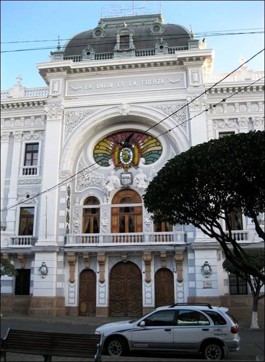 Sucre – stolica Boliwii