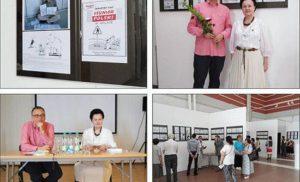 Szczepan Sadurski otworzył wystawę w Wilnie