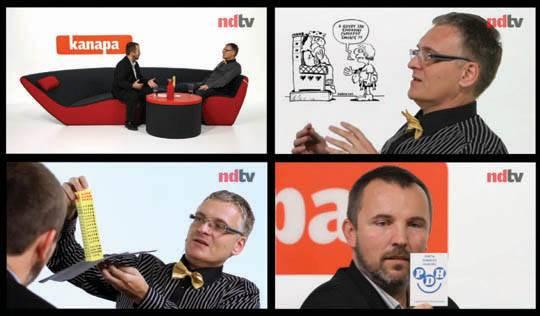 Szef SuperPolonia.info w NDTV