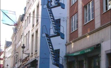 Tintin wiecznie żywy w Brukseli