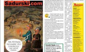 Uśmiech w polonijnym magazynie w USA