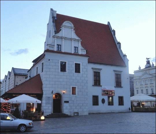 Waga Miejska na Starym Rynku w Poznaniu
