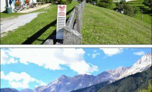 Wesoły wieżowiec w austriackim Tyrolu