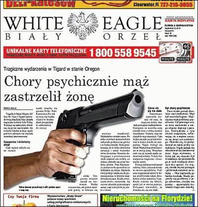 White Eagle – Biały Orzeł, USA
