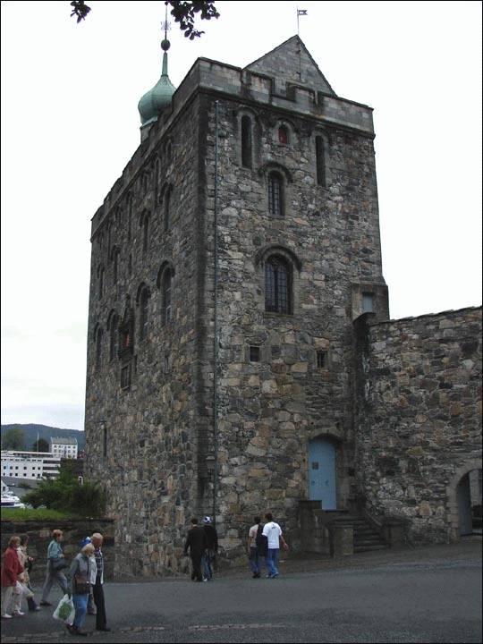 Wieża Rosenkrantza – Bergen, Norwegia