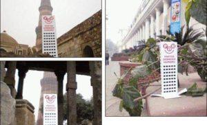 Wesoły Wieżowiec w stolicy Indii