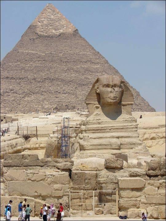 Wielki Sfinks Egipski – ciekawostki