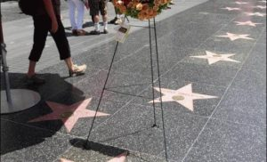 Wieniec na Hollywood Walk of Fame