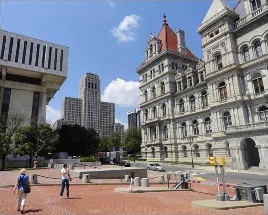 Z wizytą w Albany, NY, USA