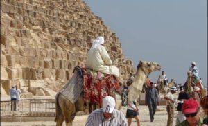 Z wizytą w Gizie, Egipt