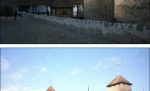 Zamek Chillon w Szwajcarii