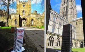 Zamek i katedra w Durham (Anglia)