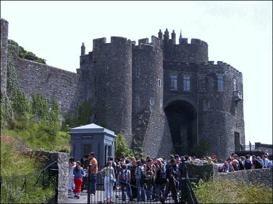 Zamek w Dover (Dover Castle), Wielka Brytania