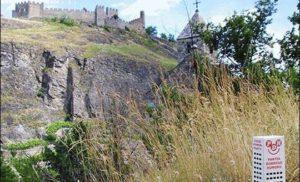 Zamek w Sion, Szwajcaria