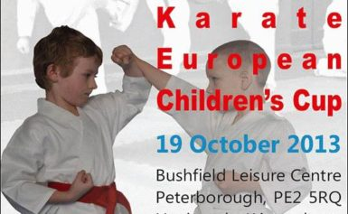 Zawody karate w angielskim Peterborough