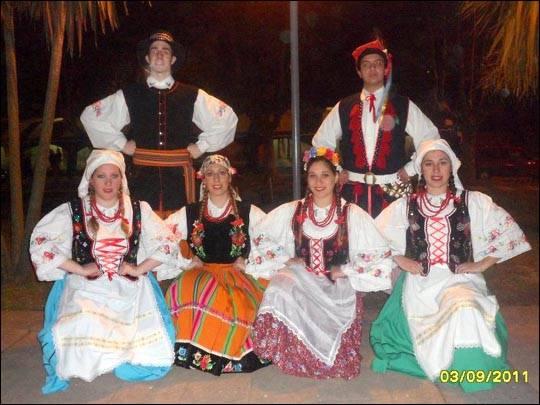 Zespół Dusza Polska (Danzas Tipicas Polacas), Argentyna