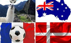 Mundial 2018 w Rosji. Grupa C: Australia, Francja, Peru, Dania