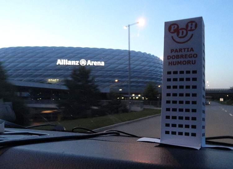 Allianz Arena – stadion klubu Bayern Monachium