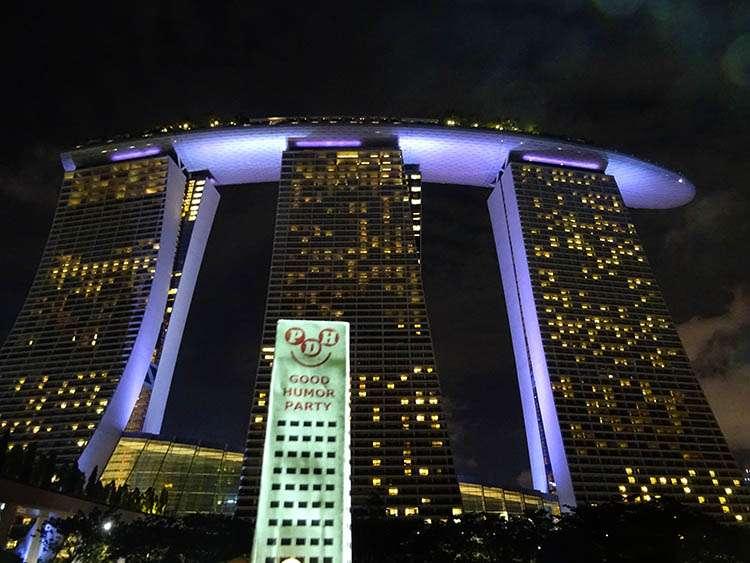 Marina Bay Sands Singapur hotel hotele ciekawostki