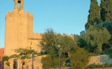 Zamek Alcazaba w Badajoz, Hiszpania