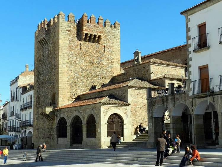 Cáceres, Hiszpania