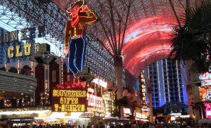 Fremont Street w Las Vegas