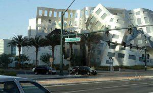 Niezwykły budynek w Las Vegas