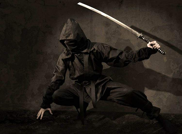 Japonia. Wojownicy Ninja poszukiwani
