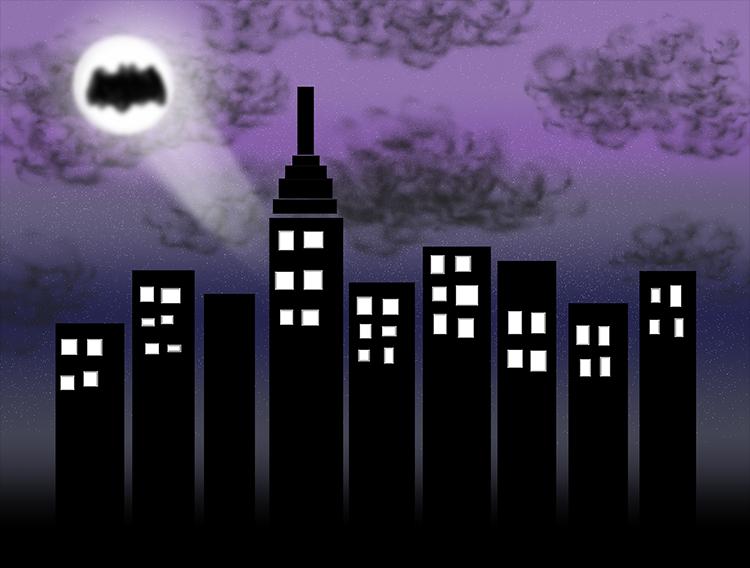 Batman z komiksu i Batman – prowincja Turcji