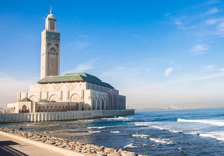 Maroko Casablanca meczet